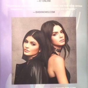 Kendall and Kylie book signed copy